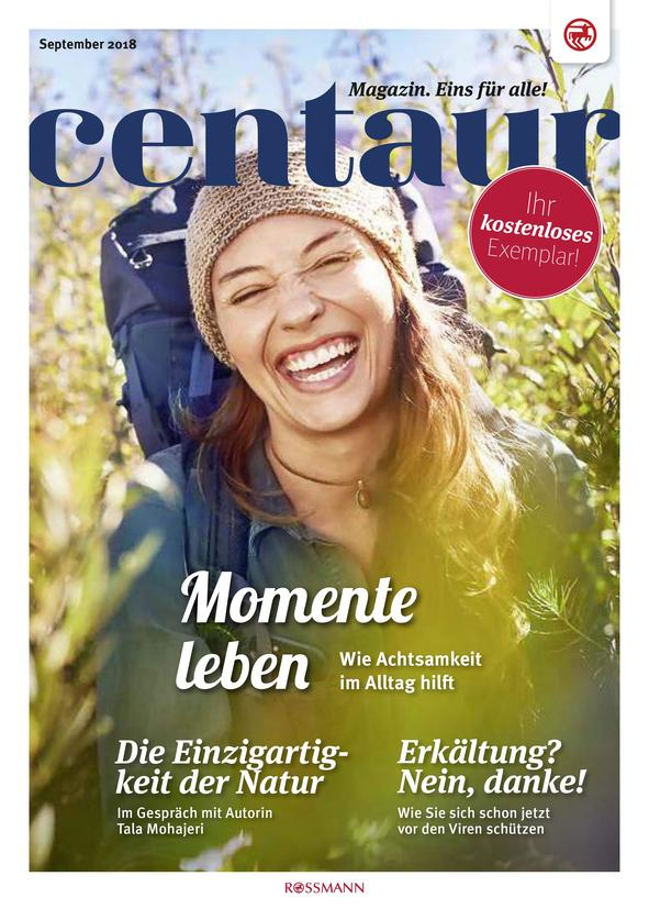 Rossmann Magazin Vorschau der Seite 1