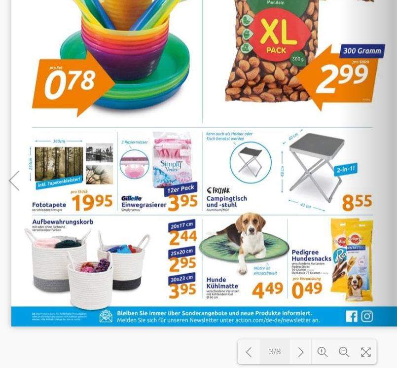 Action Angebot - Kühlmatte für Hunde