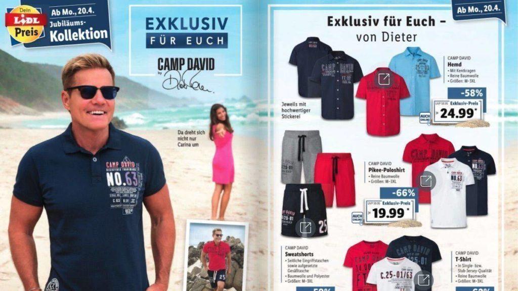 Camp David Dieter Bohlen Kollektion 2021
